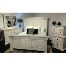 Distressed White Dresser