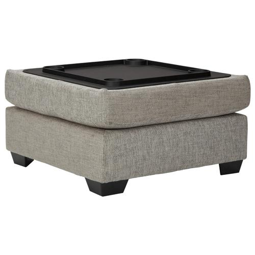 Megginson Chaise Sectional with Storage Ottoman