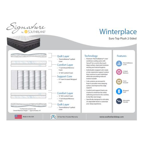 Southerland - Signature Collection - Winterplace - Super Pillow Top