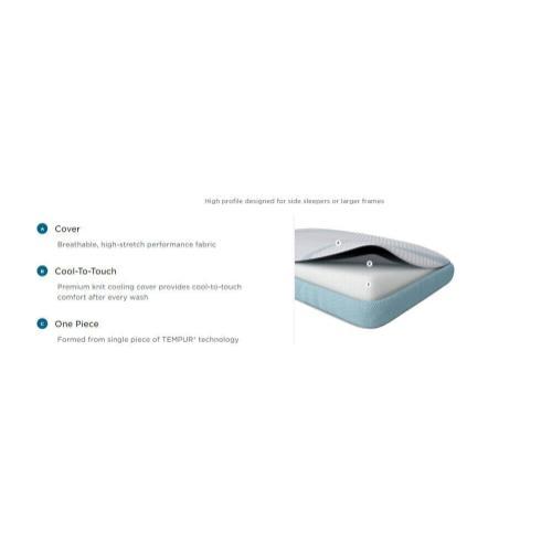TEMPUR-Adapt Pro + Cooling Pillow - Hi