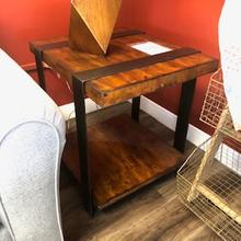 444-809 ETBL Timber Forge End Table