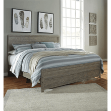 Culverbach - Gray - King Panel Bed