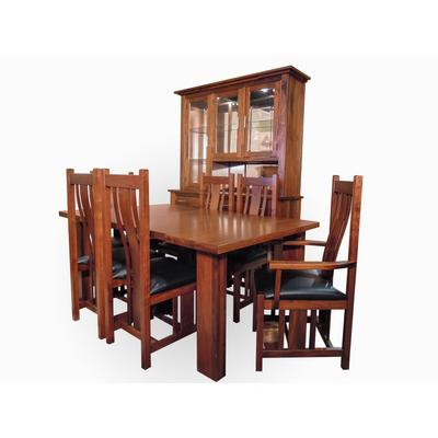 Rectangle Leg Dining Room Set