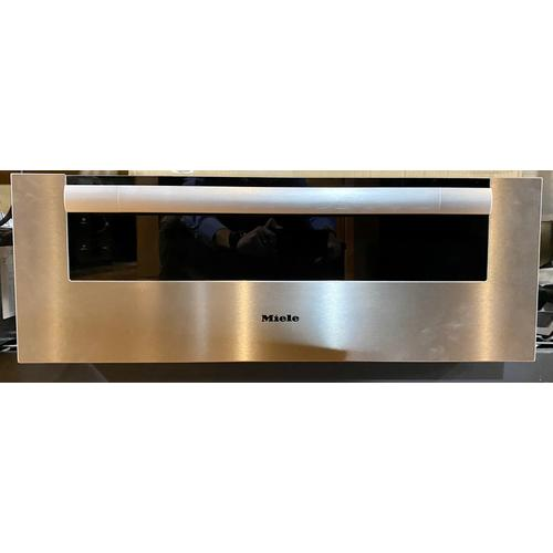 Miele  ESW6780 - 30 inch warming drawer with 10 13/16 inch front panel height with the low temperature cooking function - much more than a warming drawer.