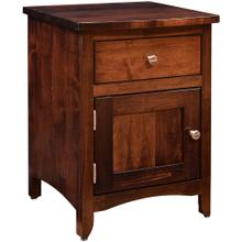 Roxbury Collection- 1 Drawer Nightstand