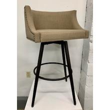 """See Details - Amisco """"Radcliff"""" Swivel Bar Stool"""