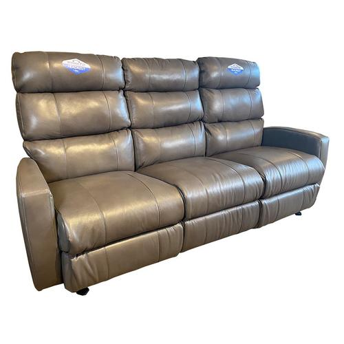 HILLARIE COLL. Power Leather Reclining Sofa with Power Headrest #221626