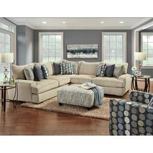See Details - Handwoven Linen Sectional
