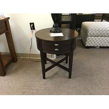 "Jofran ""Kent Country Oak"" 844-3 Round End Table FD 22""W-22""D-24""H"