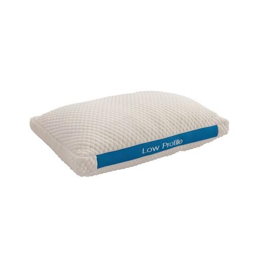 Bedtech - iRelax Low Profile Pillow - Queen