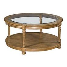 Candlewood Round Cocktail Table H676911 - Warm Oak