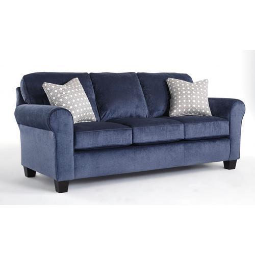 ANNABEL Stationary Sofa with Sock Arm