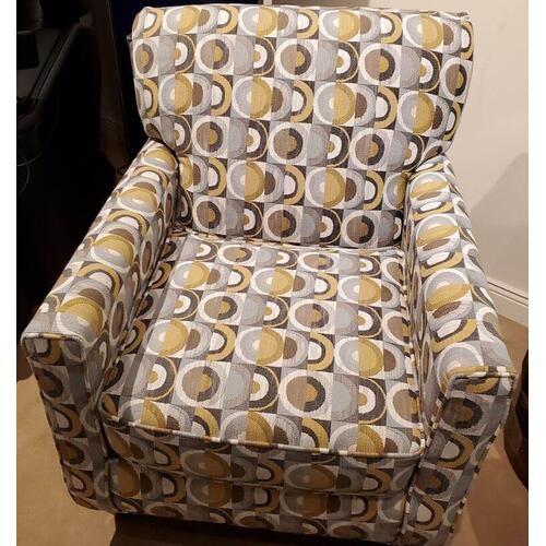 Macon Galaxy Accent Chair