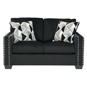 Ashley Furniture - Gleston Onyx 4PC Package: Sofa, Loveseat, Chair and Ottoman (12206)