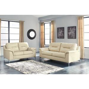Tensas Sofa and Loveseat Set Ice