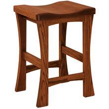 Sandusky Amish Custom Barstool / Counter Stool