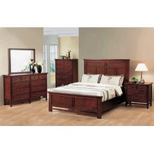 Willow Creek Quuen Panel Bed