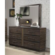 BERNARDS 1827-1301827-140 Edison Dresser & Mirror