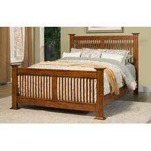 Colorado Queen Slat Bed