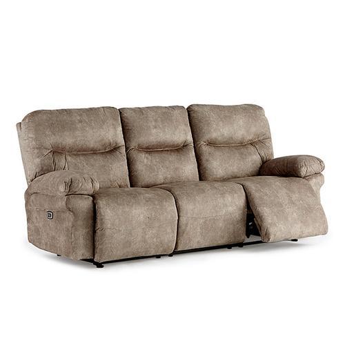 Leya Power Reclining Sofa with Adjustable Headrest