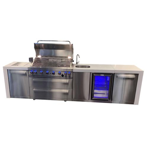 Mont Alpi 805 Deluxe Island with beverage center