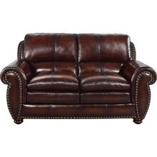 Aspen Brown Loveseat