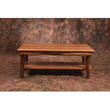 Hickory Coffee Table