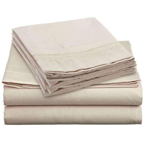 I'COOL sleep cool bed sheets ( beige )