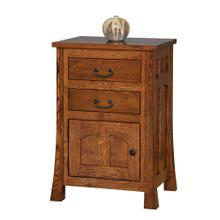 Bridgeport Mission Collection- Nightstand