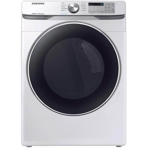 Samsung Front Load Electric Dryer with Steam Sanitize  7.5 cu. ft. Capacity DOE