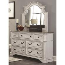 LIFESTYLE C8023A 045-050 River Manor Dresser & Mirror