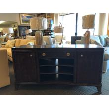 """See Details - Grantham Hall Collection Entertainment Console 62"""" W x 19"""" D x 32"""" H"""