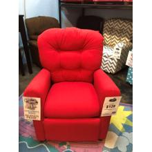 Red KIds Recliner