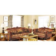 See Details - 998 Sofa and Loveseat Set- 31 Brown