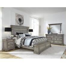King Bed, Dresser, Mirror, Chest and 2 Nightstands