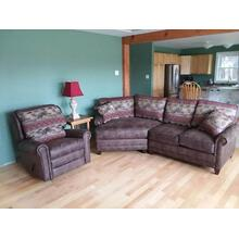 Cuddler Sofa And Recliner Set
