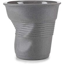 See Details - Revol Froisses Porcelain Cappuccino Tumbler Coffee Cup 100 Recyclay, 6.25 Oz