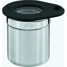 Rosle Stainless Steel 2-Inch Jar with Silicone Glass Lid