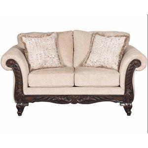 Affordable Furniture Manufacturing - EMMA WHEAT LOVESEAT  (8552)