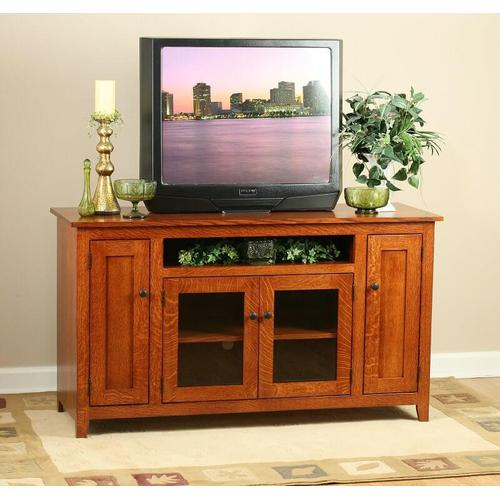 Modern Mission TV Stand