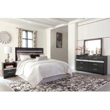 Starberry - Black 4 Piece Bedroom Set