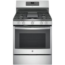 Adora 5.0 cu. ft. Gas Range with Self-Cleaning Convection Oven in Stainless Steel