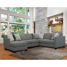 Omnia 3 Pc. Sectional Slate