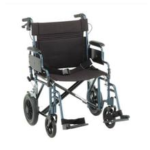 "22"" Heavy Duty Transport Chair w/ 12"" rear wheels"