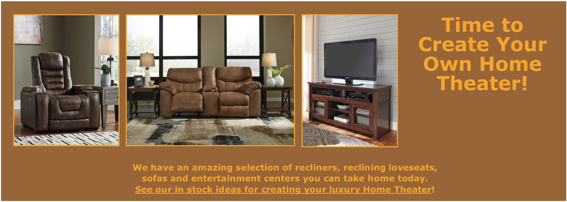 CREATE YOUR OWN HOME THEATER