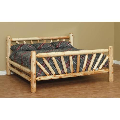 KING Sunburst Bed