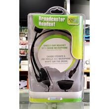 Single-Ear Headset w/ Boom Mic for Xbox 360