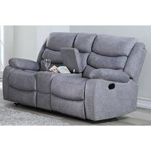Granada Reclining Console Love Seat with Power Footrest