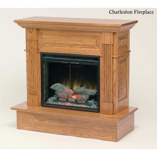 Charleston fireplace Entertainment Center