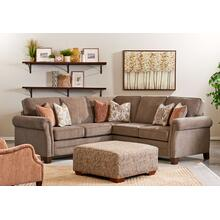 Wood House Upholstery Islander Sectional - Archie Metal